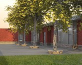 Ecole Elementaire Marie-Curie Courtyard